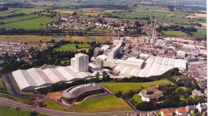 The Innovia Group site in Wigton, UK