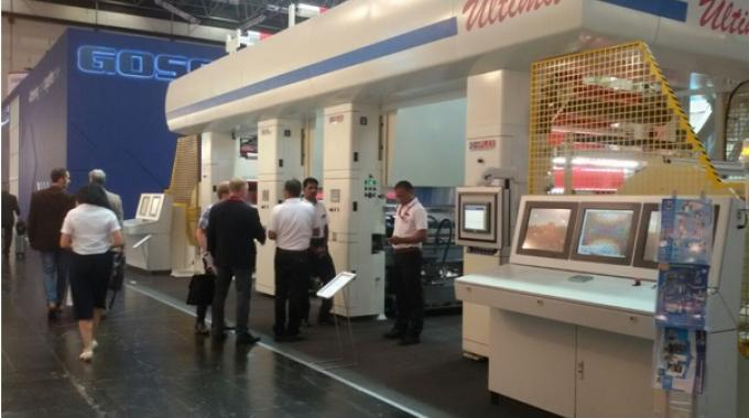Uflex showcases ELS based rotogravure printing press