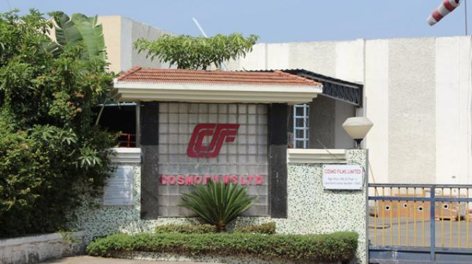 Cosmo Films manufacturing facility in Waluj
