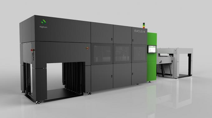 Komori America and Highcon entered into a strategic selling agreement in late 2016