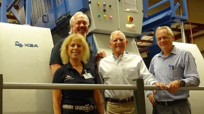 McLean Packaging has retrofitted an Eagle Systems Eco-Eagle cold foil system to a KBA Rapida 106 press