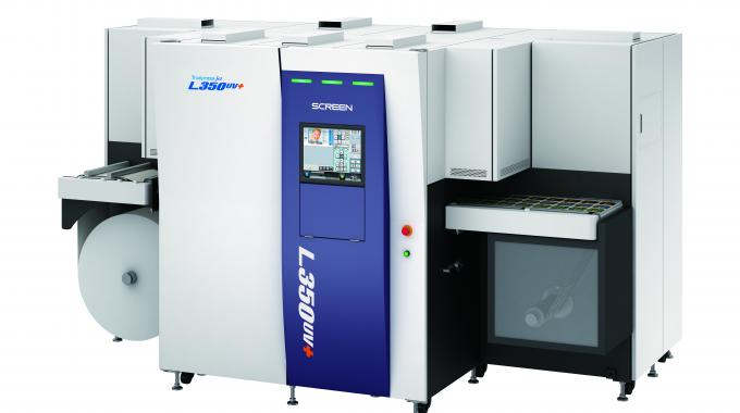 Screen has recently added the Truepress Jet L350UV+ to its product portfolio
