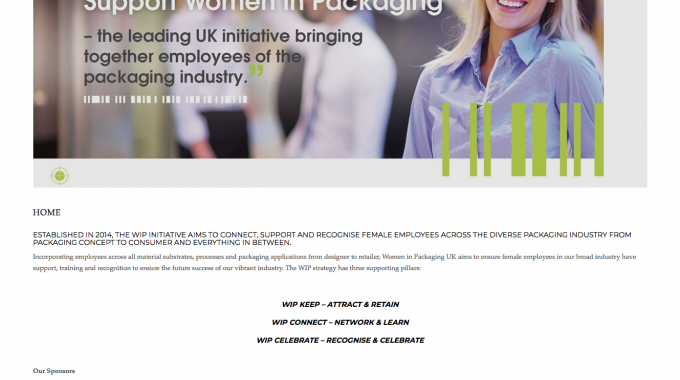 Women in Packaging UK has introduced a new-look website