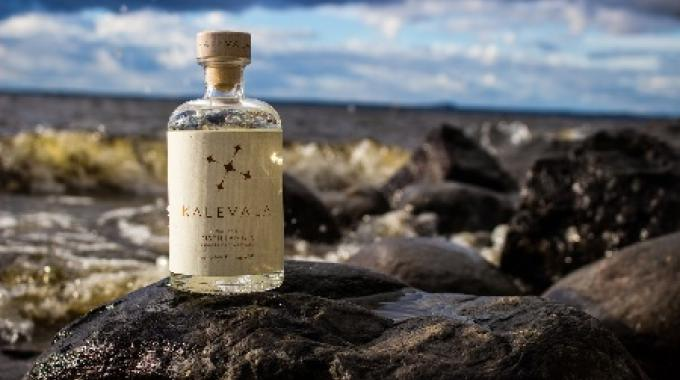 Kalevala gin uses NFC tage to connect with consumers