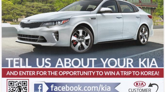 Digital Label Solutions, US (TLMI) with 'Tell us about your Kia'
