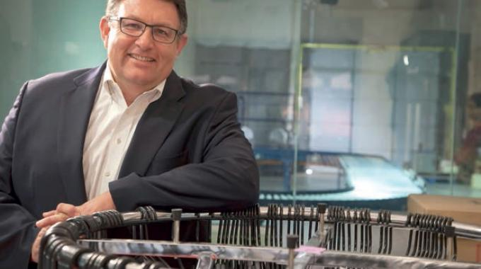 Dean Frew, chief technology officer and senior vice president of RFID solutions, SML Group