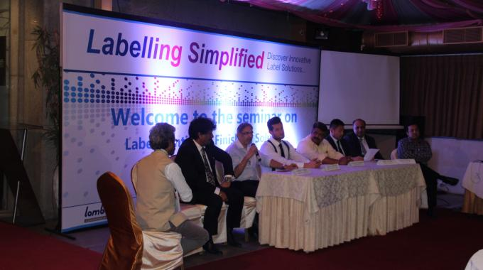 Panel discussion at the Labelling Simplified seminar organized by Vinsak