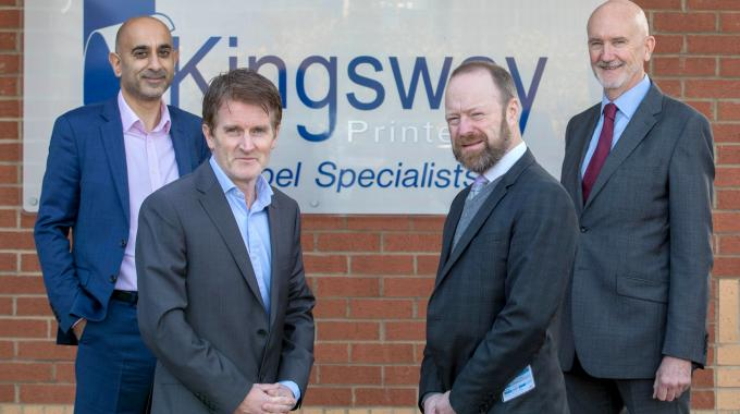 Kingsway managing director Richard Pullan (left) and Reflex chief executive Ian Kendall (right)