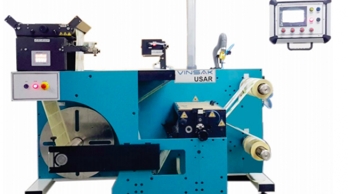 Vinsak USAR slitter inspection rewinder to be installed alongside the Lombardi press