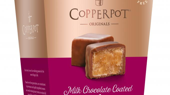 Copperpot Originals, a Cornwall, UK-based confectionery producer, has introduced new packaging to reflect the premium nature of its products and newly-aligned brand story