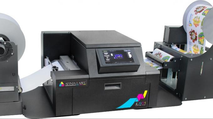 Afinia Label Launches Industrial Digital Color Printer Built For Inline Operation
