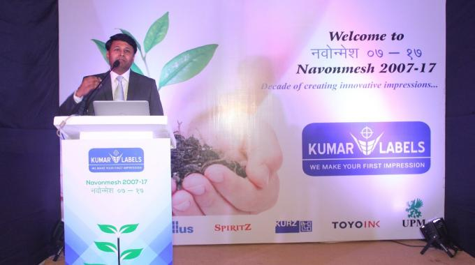 Anuj Bhargava, founder and chief executive officer at Kumar Labels