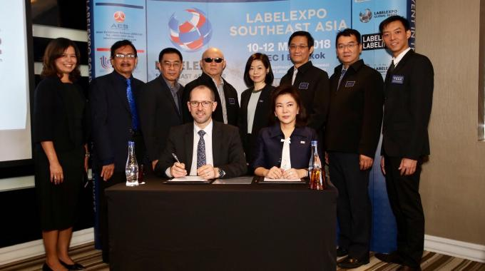 Labelexpo Southeast Asia 2018 is supported by the Thai Screen Printing & Graphic Imaging Association (TSGA) and the Department of Industrial Promotion (DIP) under the Minister of Industry