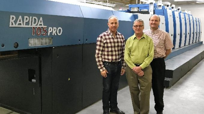 Oak Printing expands capacity with Koenig & Bauer Rapida 105 PRO