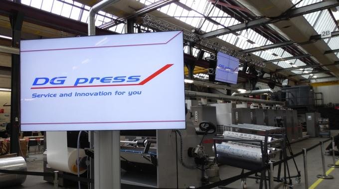DG press has sold its third Thallo after an Open House to showcase the latest developments with its new variable repeat web offset press