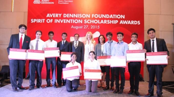 Avery dennison foundation recognizes talent in india labels labeling anil sharma and alicia procello maddox with ten winners at spirit of invention invent thecheapjerseys Choice Image