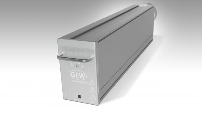 GEW was the only UV supplier of the three considered for the upgrade that was able to offer one single lamp for the overall width