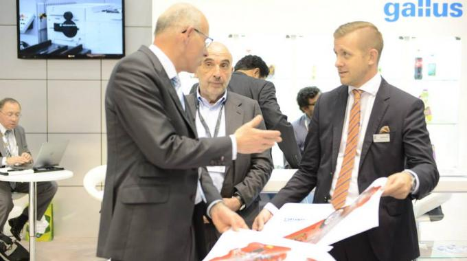 Suppliers from across label and package printing supply chain were present directly and through their regional agents, such as Grafotronic
