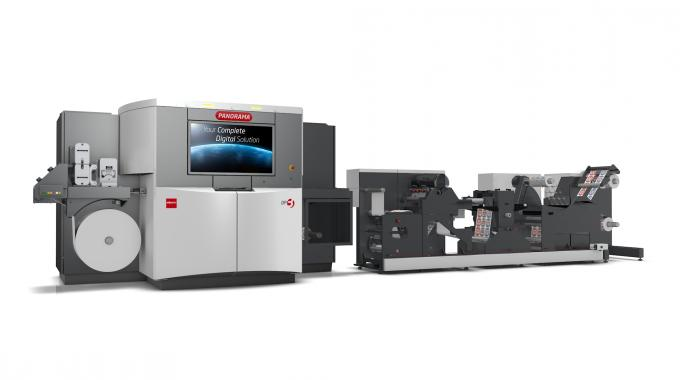 Nilpeter Panorama digital line launches at Labelexpo