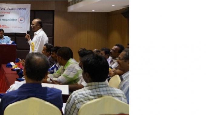 South India Printers Association second executive meeting held on June 14, 2015