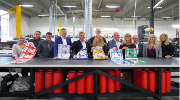 Printing flexible packaging requires a team effort from suppliers and converter