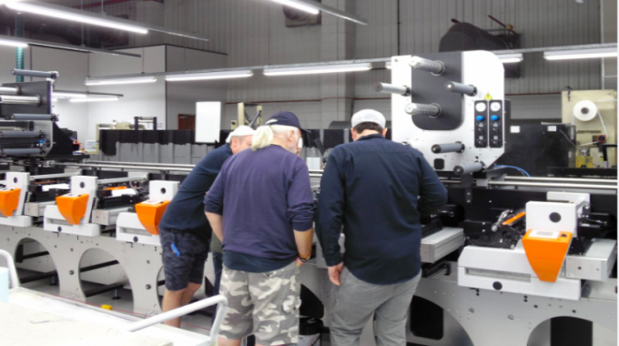 Amberley has invested in its first flexo press, an Edale FL3, in almost two decades