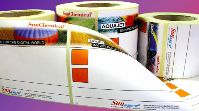 SunJet and Durst launched low migration digital inks back at Labelexpo 2013