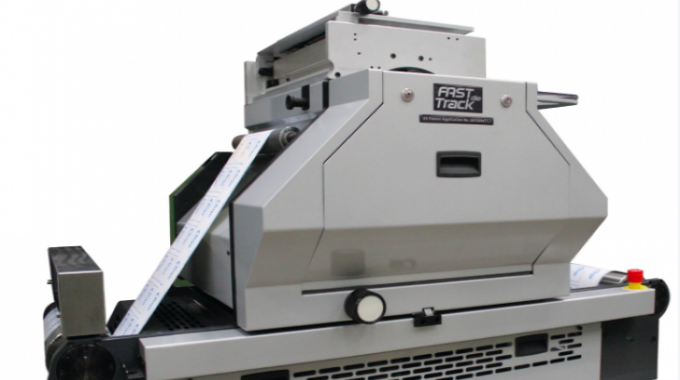 AB Graphic's Fast Track semi-rotary die can run at speeds of up to 150m/min