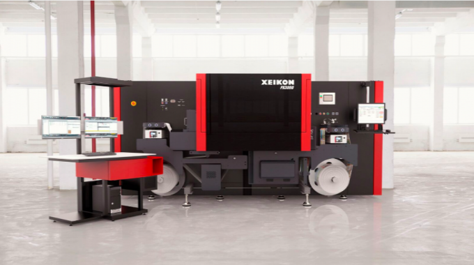 Xeikon introduced the Panther press series in spring 2017 with the PX3000