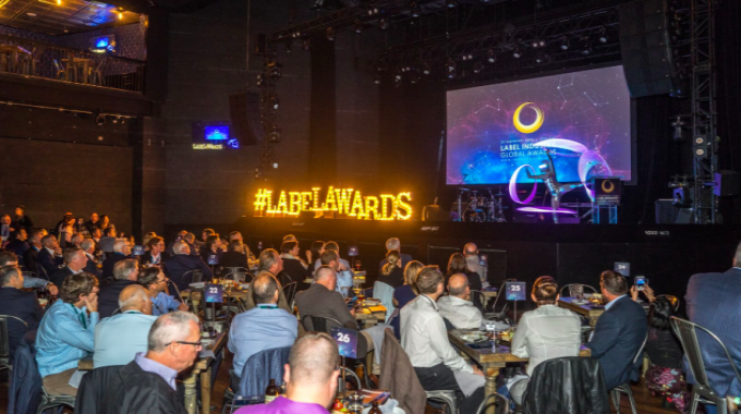More than 300 people attended the Label Industry Global Awards