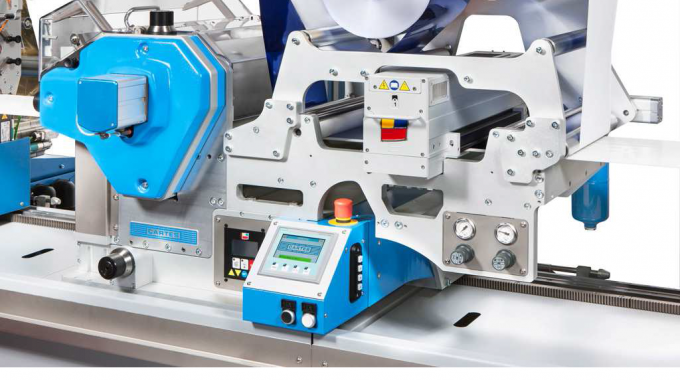 The semi-rotary, gearless flexo varnishing system is available in rotary and semi-rotary models, for full background and spot varnishing respectively, and can operate at speeds up to 60m/min