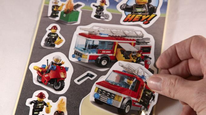 The flexographic printing category award went to Flexiket A/S for Lego City Stickers
