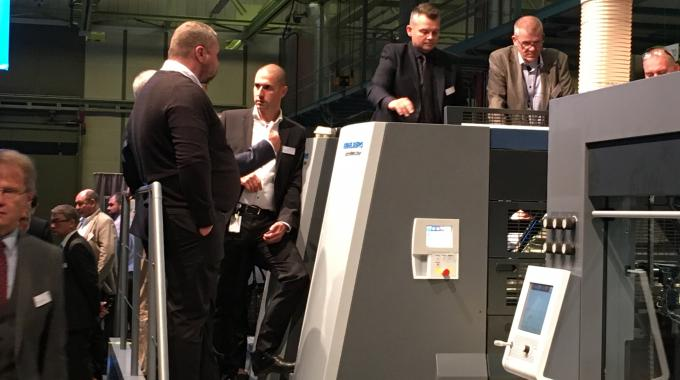 Heidelberg's Label Day demonstrated end-to-end IML production