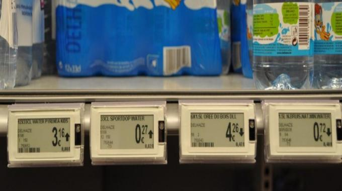The Pricer labels were chosen due to the readability of the displays, the maturity of the solution, the bi-directional communication and the ease of deploying a full chain rollout