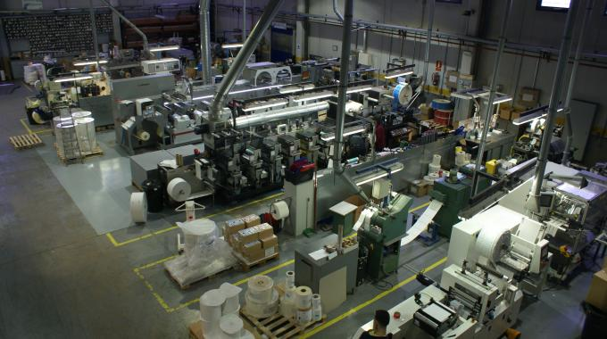 The production floor at Loc España's factory in Getafe, just outside Madrid