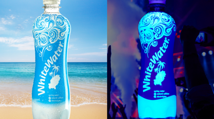 WhiteWater is a new water brand that is described as 'Ibiza personified'