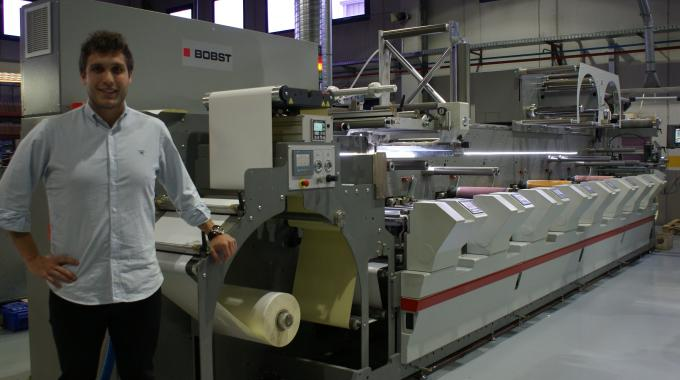 Zoilo Lopez with the Bobst M4