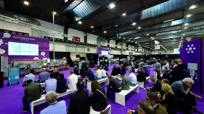 The Automation Arena at Labelexpo Europe 2017