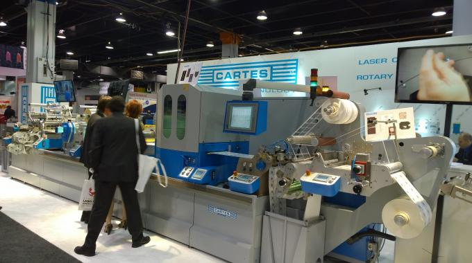 The Cartes stand at Labelexpo Americas 2014