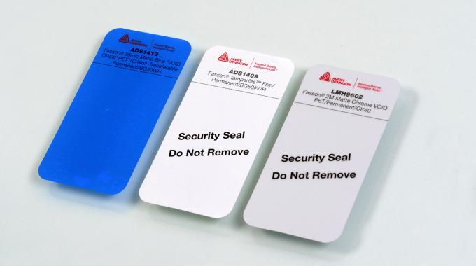 Avery Dennison launches enhanced tamper evident labels