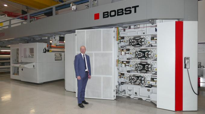 Bobst has named Peter Redmond as zone business director of UK and Ireland for its web-fed business unit