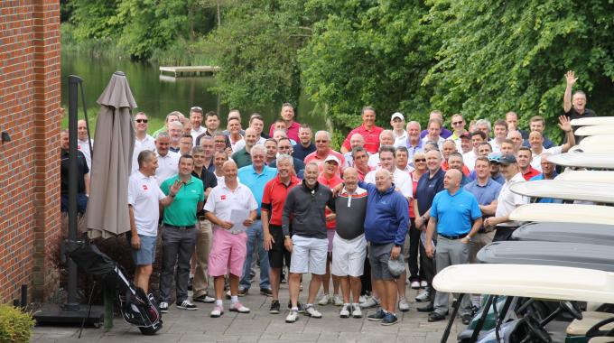 72 golfers took part in this year's event on June 16 at Donnington Grove Country Club