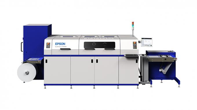 Sohn Quality Custom Labels, a division of Sohn Manufacturing, has purchased a 7-color Epson SurePress L-4033AW digital inkjet label press to expand its short-run label printing offering