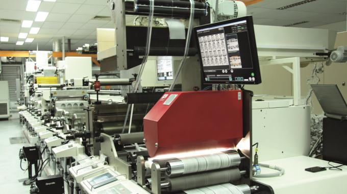 EyeC's Proofrunner Label inspection system can be used on the press or rewinder