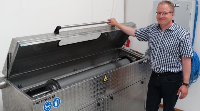 Martin Fundal saw the opportunity to develop a dedicated production unit to fulfill the growing demand for IML