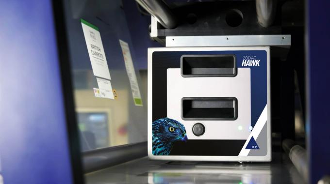 Zodiac Hawk features iAssure, an internal checking system that assesses the spent ribbon after each code has been produced to determine whether the print quality has been good enough