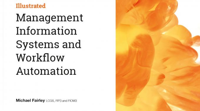 'Management information systems and workflow automation' has been developed and written in conjunction with industry experts