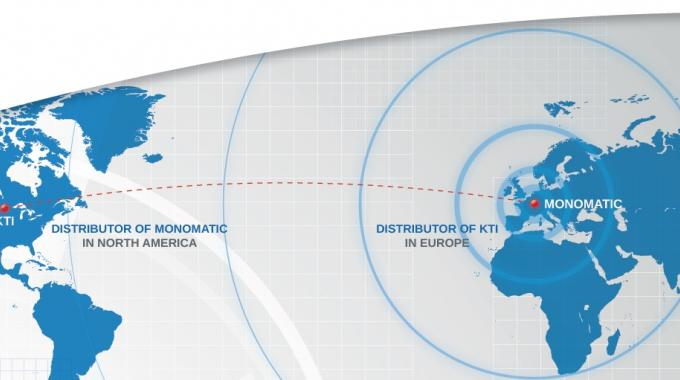 Monomatic now representing KTI in Europe