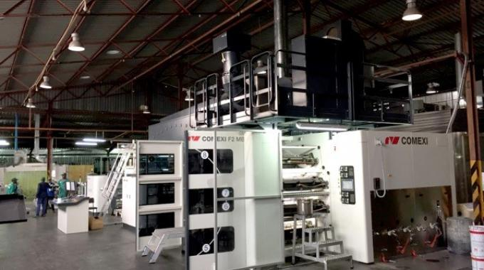 The relation between Natpak and Comexi started in 2014 when the African company acquired a Comexi FW flexographic press