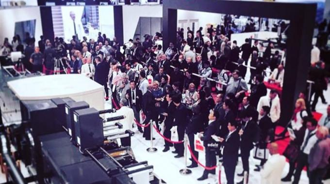 Nilpeter stand packed with visitors at Labelexpo Europe 2017
